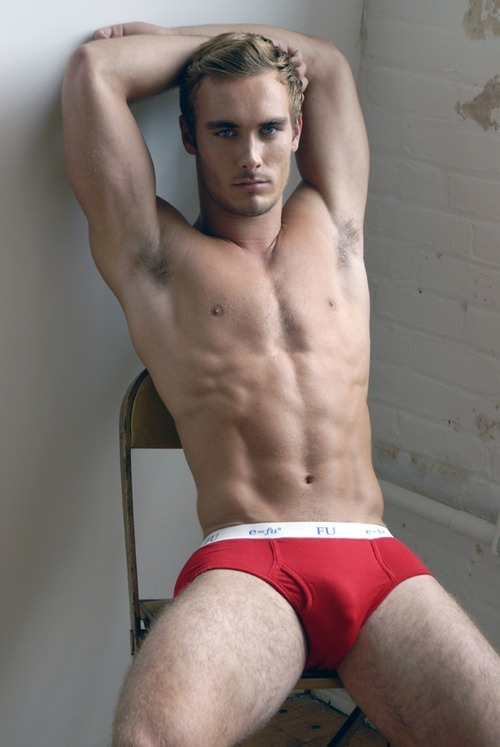 Sexy in red briefs I think red underwear and swimwear are my favorite. What color of underwear do you love?View Post