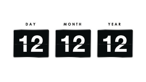 Hi 12/12/12, Nice to meet you. :) It is the last triple-digit date of the century, and just possibly holds a bit of magic.  Carpe diem ♥ B.S. (no b.s.)