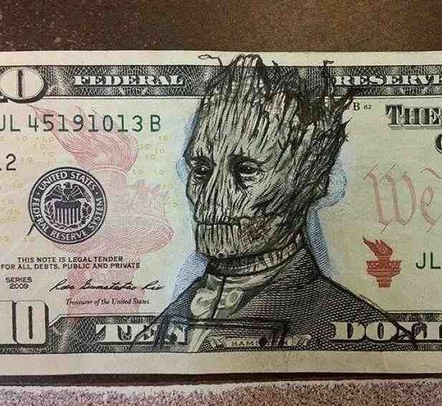 theclearlydope:  One Nation Under Groot.