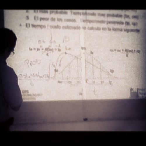 De cuando un curso de manejo de proyectos hace que me vuelva a enredar con fórmulas #help (en ITESO, Universidad Jesuita de Guadalajara)