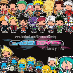 jaypici:  Crossover Stickers, Anime, Cartoons, Videogames and Pop Culture