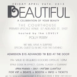 I'm SO excited for this party tomorrow at COURTHOUSE!!!!!! I'm the MC; @djlissamonet spins!  S/O to @pollyperrynet!!!!  (at Courthouse)