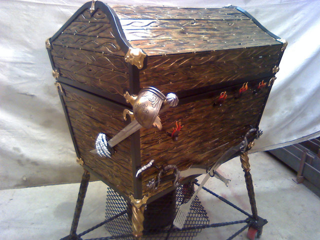 Pirate Style - Treasure Chest BBQ