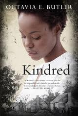 Monty Reads: Kindred by Octavia E. Butler Another in my long list of time travel novels to read. Kindred has got time travel in it, but it's not the most important part of the story. The protagonist, Dana, is a modern black woman (from 1976) who gets pulled back in time to 18-something. She saves the life of a (white) child who turns out to be one of her ancestors. Essentially she has to make sure this creepy kid gets with one of his slaves (eventually) so that she can exist in the future.  The time travel takes a back seat as the story of Dana fitting in with the nineteenth century society, and how she learns to survive as a slave. The time travel is never explained fully. There's theories, but there's no all-knowing entity that explains it all. It's written in first person, from Dana's point of view, so that adds to the non-explanation. The story itself is pretty good. It's pretty darn horrible at times, but that's a given, seeing as Dana has to pretend to be a slave. The one thing I didn't like was the framing of the story - the ending is revealed in the prologue. Also the epilogue doesn't seem to fit too well. But that's about the structure rather than the story. The story, although repetitive in some places, was interesting enough to keep me going.