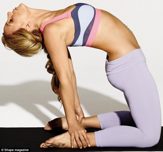 hollygossip:  Britney Spears yogas it for SHAPE MAGAZINE