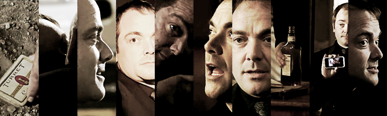 markcrowleysheppard:  {SPN} Crowley in Season5