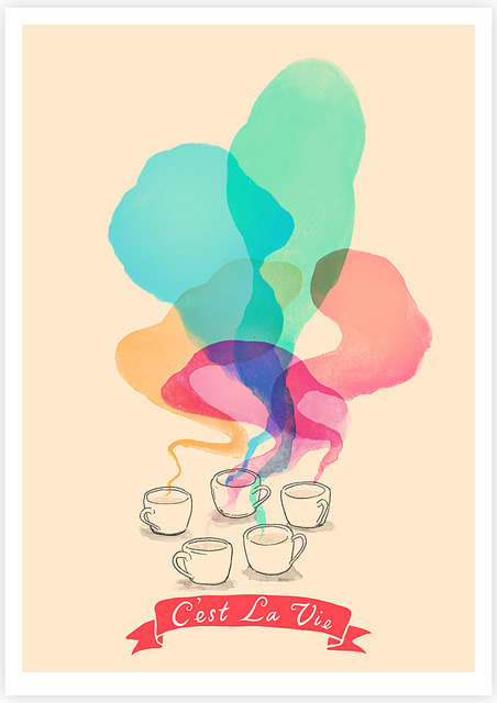 C'est La Vie on Flickr.Giclee Print Tang Yau Hoong: Web | Shop | Facebook | Tumblr | Twitter  | Behance