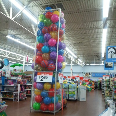 Reminds me of Schwegmann's!  (at Walmart Supercenter)