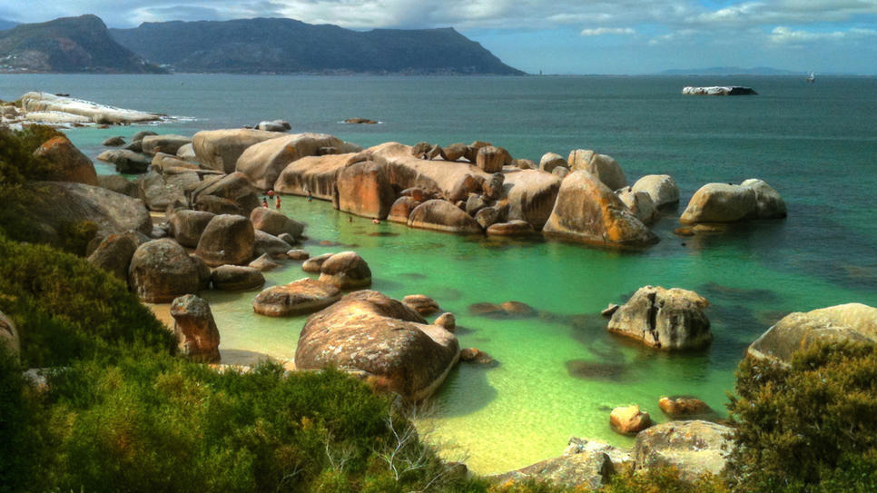 Daily Escape: Boulders Beach in Cape Town, South Africa (via Boulders Beach : Daily Escape : Travel Channel)