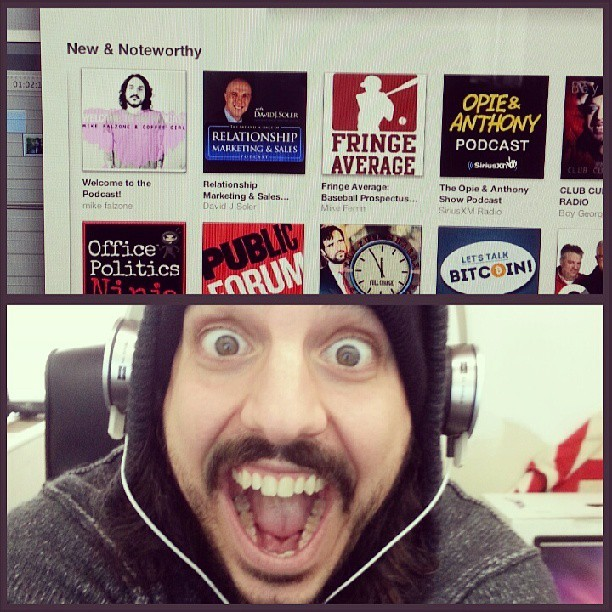 New and noteworthy on iTunes! #holycrap #thankyouguys