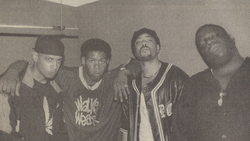 Notorious B.I.G., The D.O.C., Craig Mack, and Saafir at Riviera Theater, Chicago, 1995.