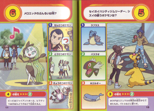 pokescans:  BW2 Quiz book.