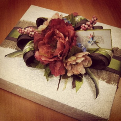 Wedding gift #giftwrapping