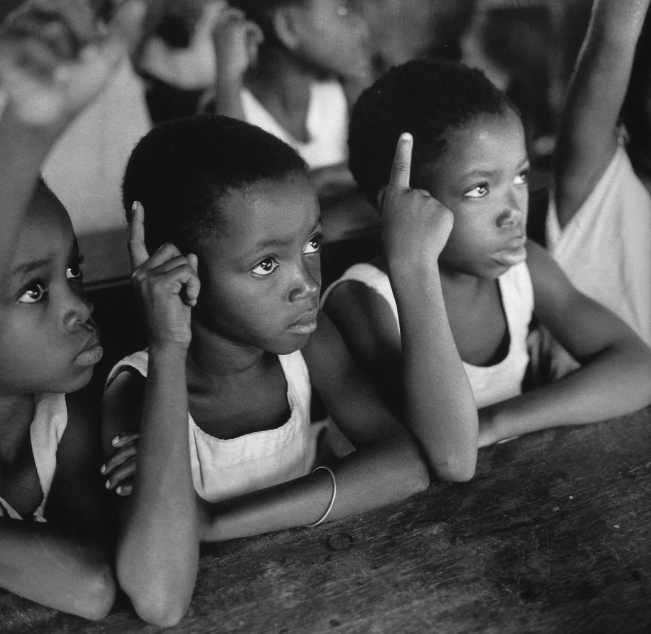 greeneyes55:  Primary School Togo 1959 Photo: Paul Almasy