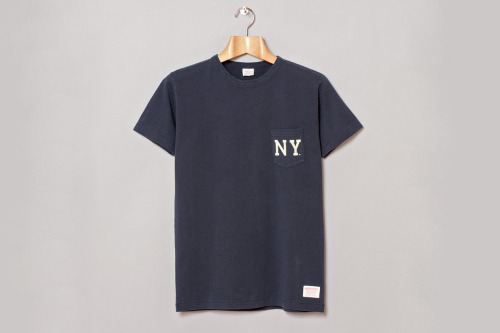 Majestic NY pocket tee