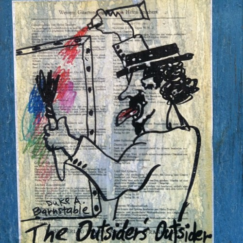 The Outsider's Outsider  #DAB #dukes! #streetart #outsiders #nyc #plaztikmag
