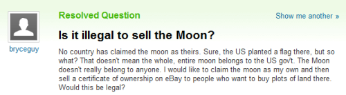 redcarnation-x:  seriously tho who owns the moon