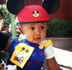 breathechyna-tyga:  King is the cutest <3   King Cairo Stevenson 💜👌