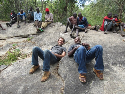 This picture was taken in the Village of Kachawa, West Pokot, Kenya, the main site for my research into social capital and pastoralist communities.  Today was my thesis defense. I was congratulated by all the professors. That's right, I passed on the first try! So if you know anyone looking for a master of community and economic development, I'm your guy.