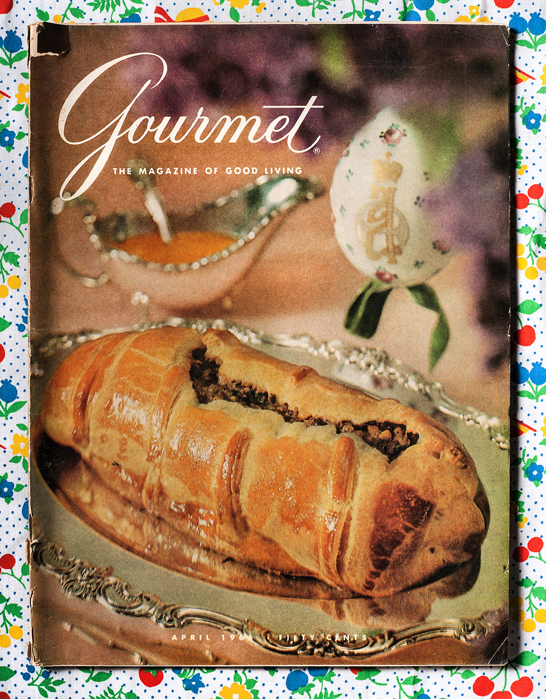 Gourmet: April 1966