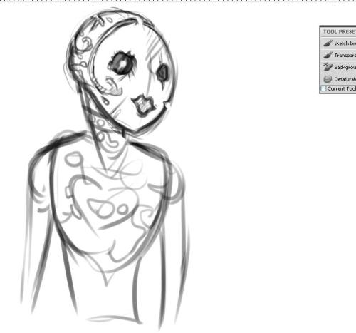 I REGRET MY CHOICESSSS! WHY IS THIS SO HARD?!Banged up automaton looks kinda spooky now for some reason haaa aaahh the weird eyes.And the cut out puckered lip shape I might take that off ughug
