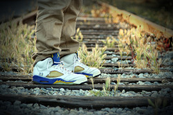sneakerphotogrvphy:  air jordan 5 laney by yeepee_a on Flickr.