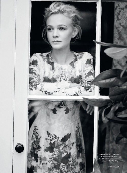 fuckyeahhotactress:  UK Harper's Bazaar June 2013 : Carey Mulligan by Tom Allen