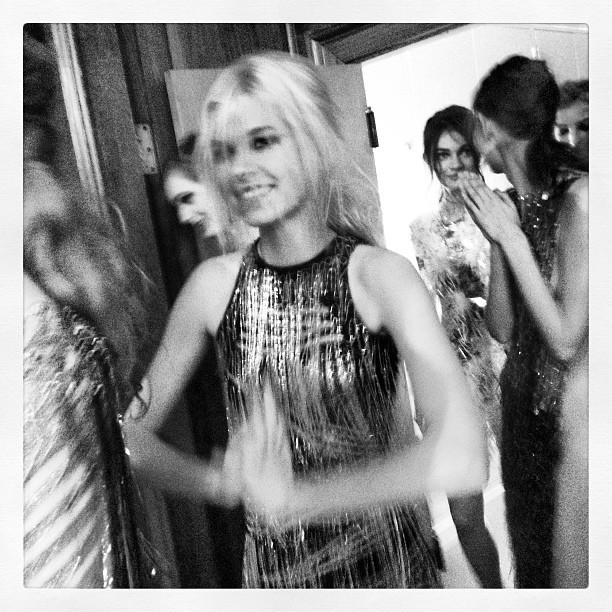 #backstage @julienmacdonald #lfw #aw13 #runway