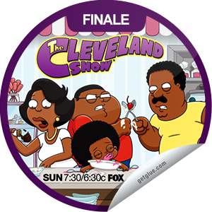 I just unlocked the The Cleveland Show Season 4 Finale sticker on GetGlue                      2658 others have also unlocked the The Cleveland Show Season 4 Finale sticker on GetGlue.com                  In the Season 4 finale, Freight Train unwittingly invites Cleveland to a lowrider convention, where Dr. Fist suggests that the elder Brown's unusual behavior may be caused by dementia.  Share this one proudly. It's from our friends at FOX.