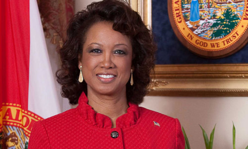 "Florida's lieutenant governor resigns amid racketeering probe With ties to a racketeering case trailing her, Jennifer Carroll has called it quits. Carroll, a Trinidad-born politician who was the first non-European-American to hold statewide public office in Florida since 1868, once consulted for a nonprofit internet cafe company called Allied Veterans of the World, which is now at the center of a racketeering investigation. The owners of the company were recently arrested. ""Effectively immediately, I hereby resign the Office of Lieutenant Governor of the State of Florida. It has been an honor to have served the State of Florida in this capacity,"" her statement, in full, said."