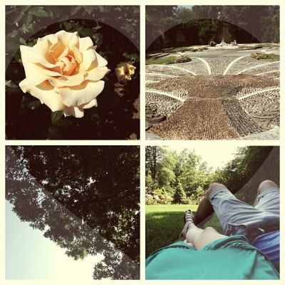 DC date day with Alex. 😍 (at Dumbarton Oaks Gardens)