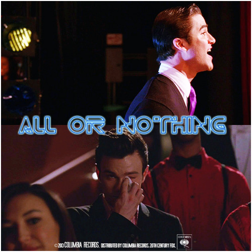 4x22 All Or Nothing | All Or Nothing Alternative Cover 'Klaine Gaze Collection'