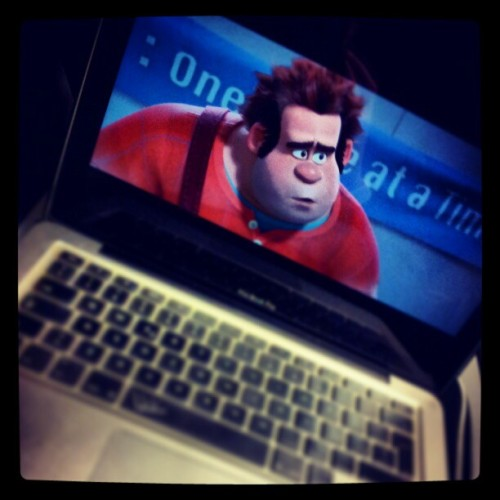 Una buona compagnia in treno… #wreckit #ralph #movie #film