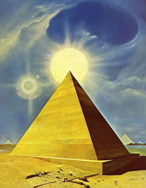 kingsanda:  Chris Foss - The Great Pyramid