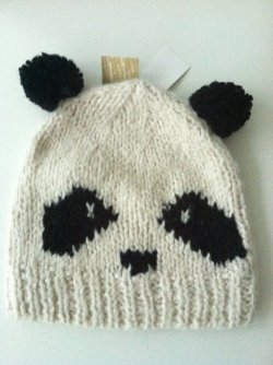 #less365, day 329: one less panda hat (I still have 2 others). This came with matching gloves and was a birthday present a couple of years ago. The hat is unfortunately too big for my head, which is odd since it's child-sized. Regifting to a friend's almost-teenage daughter and hoping it will fit her better than it fits me.