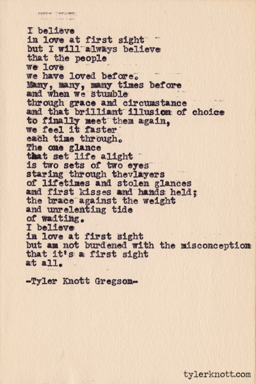 tylerknott:  Typewriter Series #371 by Tyler Knott Gregson  You, it was always you. For lifetimes and centuries and eons, it has always been, and will always be, you.