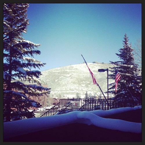 Hello, Park City! (at Lodge at the Mountain Village)