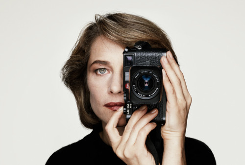 leicabuzz:  Charlotte Rampling with Leica M6…