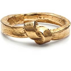 K/ller Collection Brass Single Knot Ring   (see more brass rings)