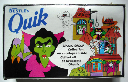 Nestle's Quick Spook Group package (1970s)