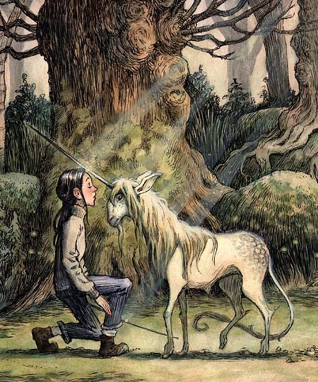 Mallory and the Unicorn - The Spiderwick Chronicles