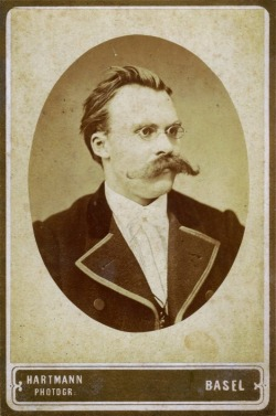 deiwosex:  revoltagainsttime:  Friedrich Nietzsche (1844 - 1900)  Father of all 'staches!