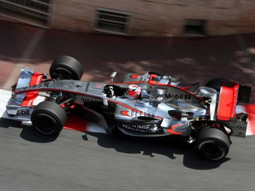 mclaren-soul:  2006 was a hard year for McLaren. The MP4-21 underperformed throughout the season but that didn't prevent Kimi Raikkonen from setting the fastest lap ever set in Monaco. It was during Q2 in qualifying when he shocked the world with a 1:13.532.