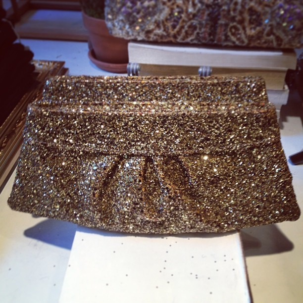 The perfect NYE clutch @clubmonaco (on major sale!) (at Club Monaco)