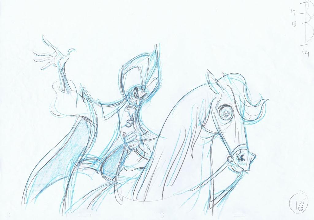 Concept sketch Jafar
