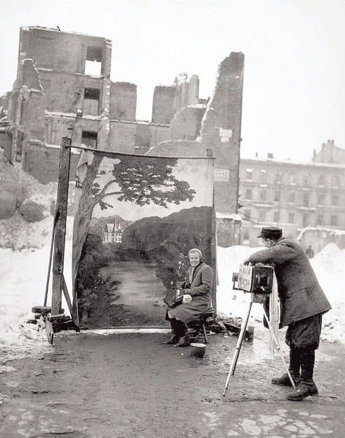 Warsaw, 1946 by Michael Nash