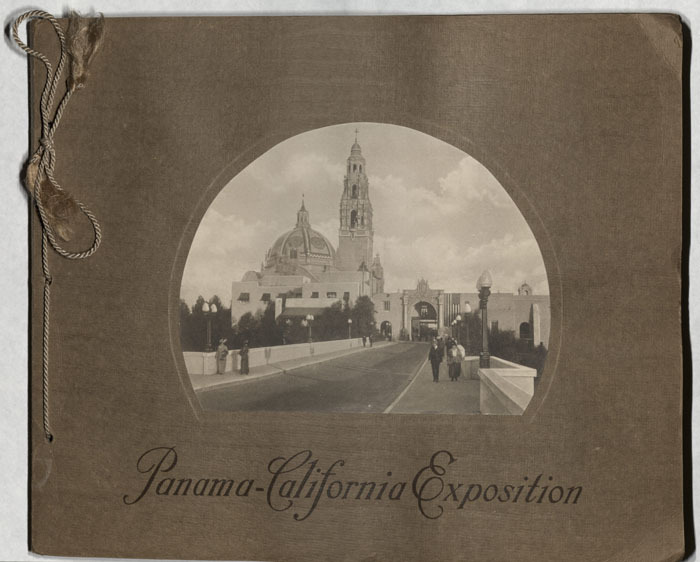 Panama-California Exposition [photograph album], circa 1915 Catalog record
