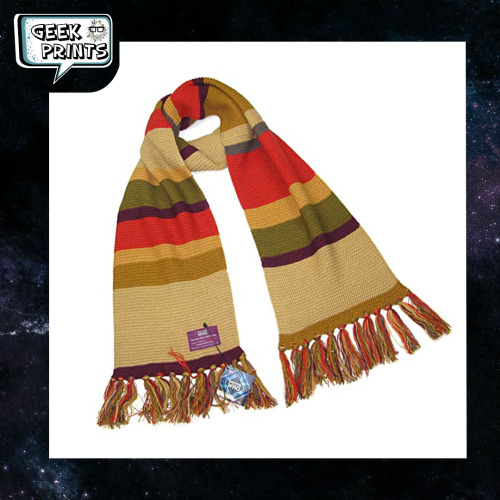 💫The scarf of the#drwho#scarfdrwho#scarfis already available here 🪐https://bit.ly/Scarves-DrWho #scarf#bufanda#dr who#doctor who#geekprintsec