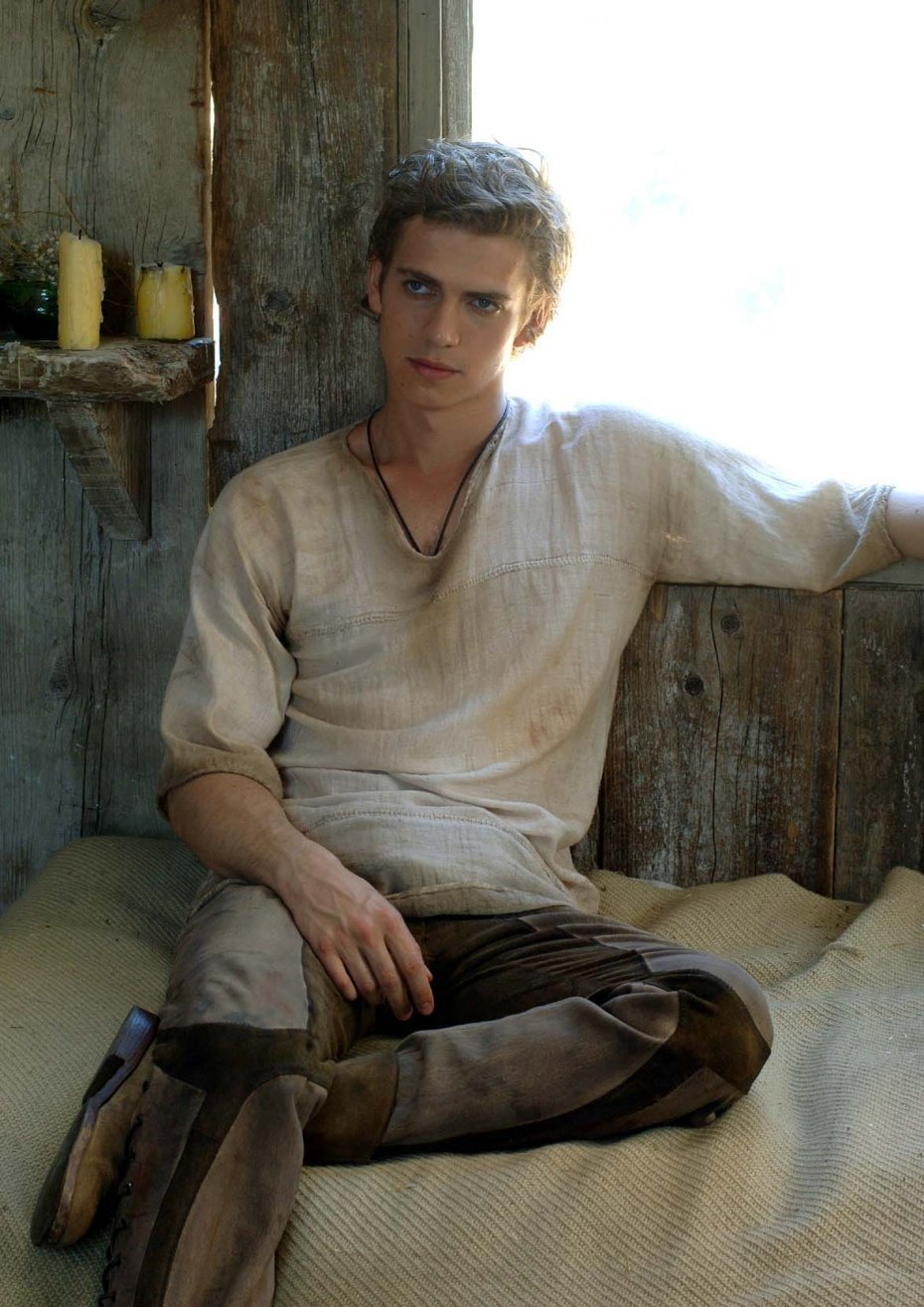 "hayden christensen in ""Virgin territory"""