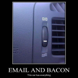Email Bacon Car Has Everything